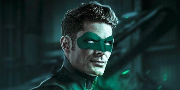 7. Así sería Zac Efron como el nuevo Linterna Verde de DC