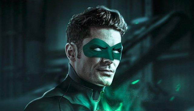 Zac Efron como Linterna Verde