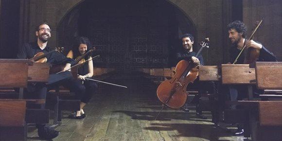 7. El Arriaga de Bilbao conmemora el nacimiento de Arriaga y Mozart con un recital del cuarteto Bilbao Sinfonietta