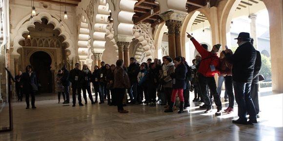 5. El Palacio de la Aljafería bate su récord de visitantes anuales por segundo ejercicio consecutivo
