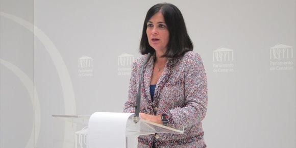 5. La presidenta del Parlamento de Canarias traslada su solidaridad y apoyo a la familia de Julen