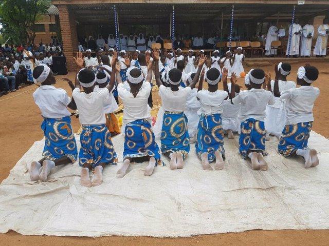 Niños de Malawi