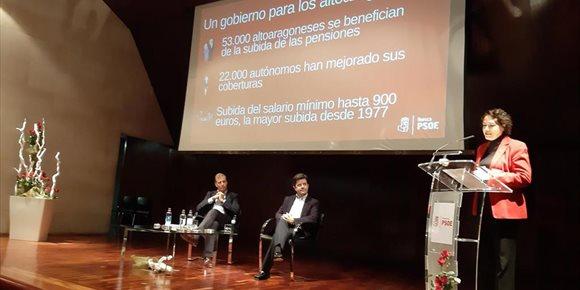 2. Magdalena Valerio pone a Huesca como ejemplo de coordinación y buen trabajo ante el reto demográfico