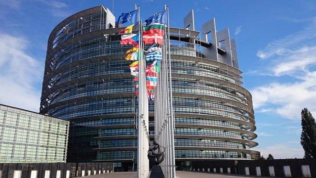 Puerta del Europarlamento