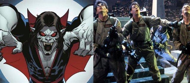 Cazafantasmas 3 y Morbius
