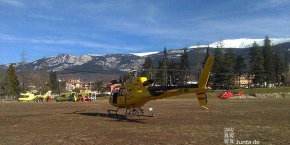 1. Rescatados cuatro montañeros heridos en la Sierra de Guadarrama (Segovia)