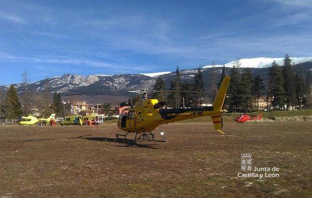 Segovia.- Rescate de cuatro montañeros heridos