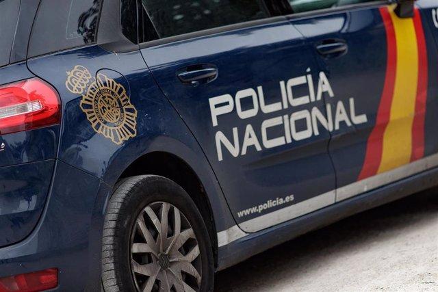 Coche de la Policía Nacional en una fotografía de archivo