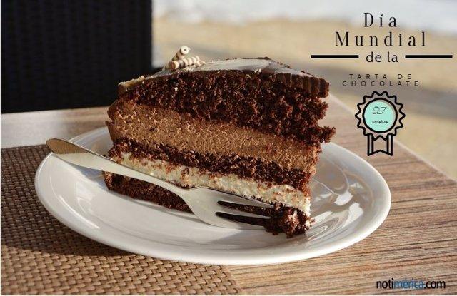 Día Mundial tarta chocolate