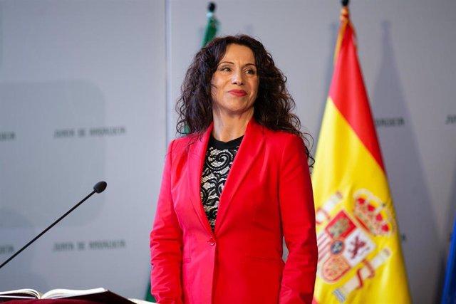 Rocío Ruiz en una fotografía de archivo
