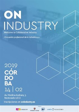 Cartel del 'On Industry-I Encuentro Profesional de la Industria 4.0'