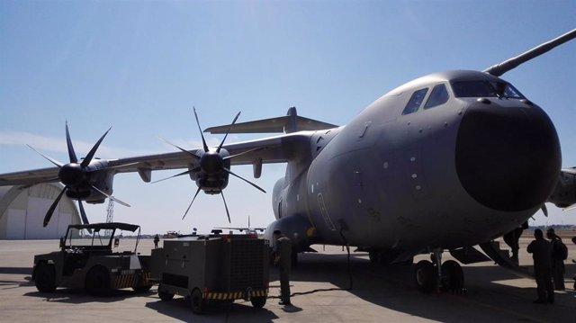 Avión A400M del Ejército del Aire