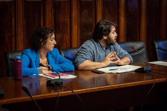 Els diputats del PSC en el Parlament Alícia Romero i Ferran Pedret