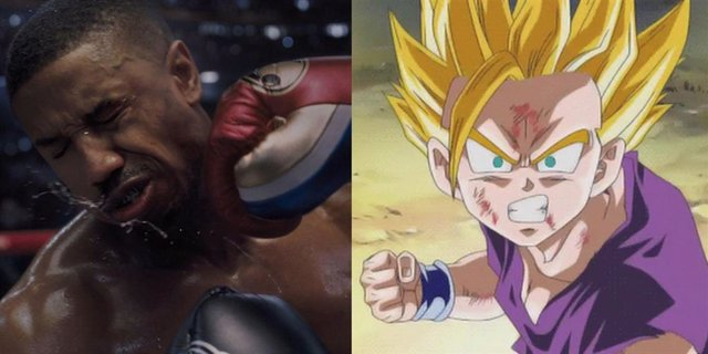 Creed inspirado en Dragon Ball