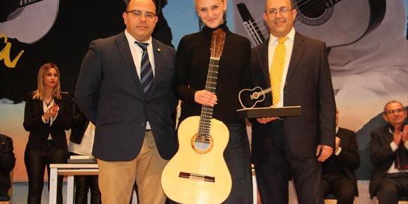 4. La alemana Julia Trintschuk gana el XXXIV Certamen Internacional de Guitarra 'Andrés Segovia' de La Herradura