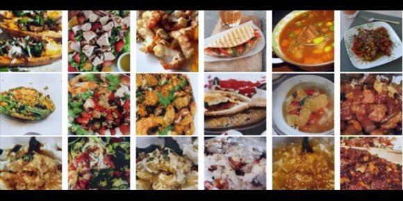 1. Una IA crea imágenes realistas de un plato de comida a partir de su receta escrita