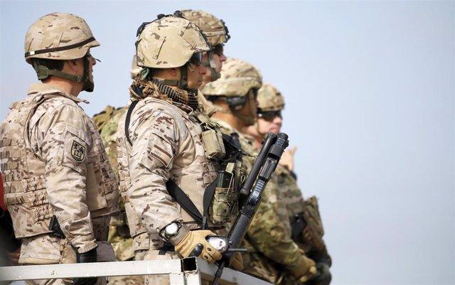 Militares estadounidenses en Irak