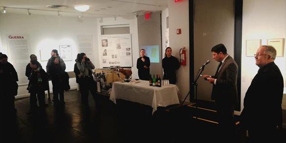 7. Nueva York acoge hasta el 1 de marzo la exposición 'Miguel Hernández, a plena luz'