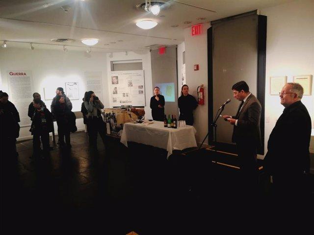 La exposición 'Miguel Hernández, a plena luz' llega a Nueva York