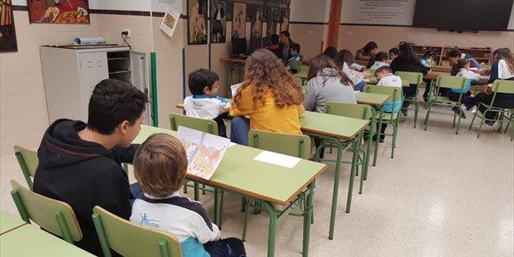 5. El colegio San José de Málaga pone en marcha un proyecto para fomentar la lectura en inglés entre niños de 6 y 14 años