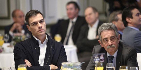 10. Sánchez escribe a Revilla para interesarse por inundaciones y abrir la puerta a retocar PGE