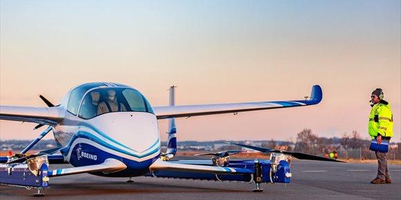 4. El vehículo autónomo aéreo de Boeing completa su primer vuelo