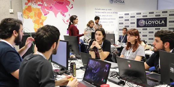 8. La Global Game Jam reúne en la Universidad Loyola de Sevilla a 50 jóvenes, que han creado ocho videojuegos en 48 horas