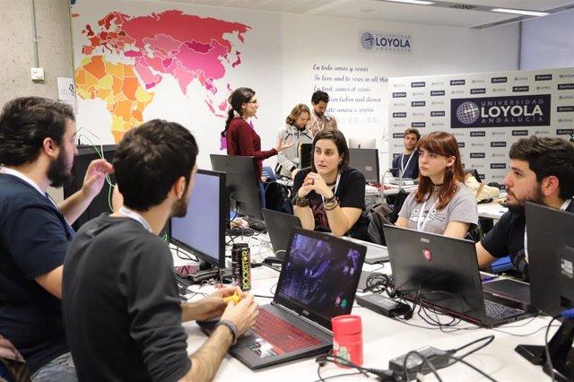 La Global Game Jam reúne en la Universidad Loyola a 50 jóvenes
