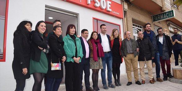 2. Francisco Reyes asegura que el cambio en Linares (Jaén) pasa por el PSOE y por Daniel Campos