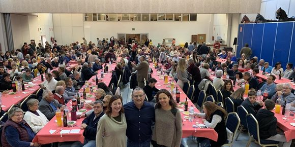 2. El candidato Alfonso Rodríguez presenta su proyecto como alcalde para Calvià en un acto con más de 500 personas