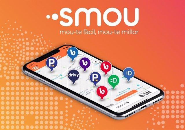 La nova app de mobilitat de Barcelona 'Smou'