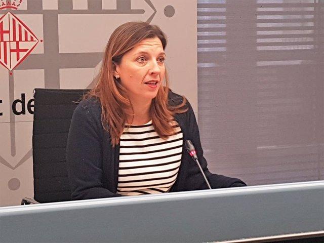 La tinent d'alcalde de Drets Socials de Barcelona, Laia Ortiz