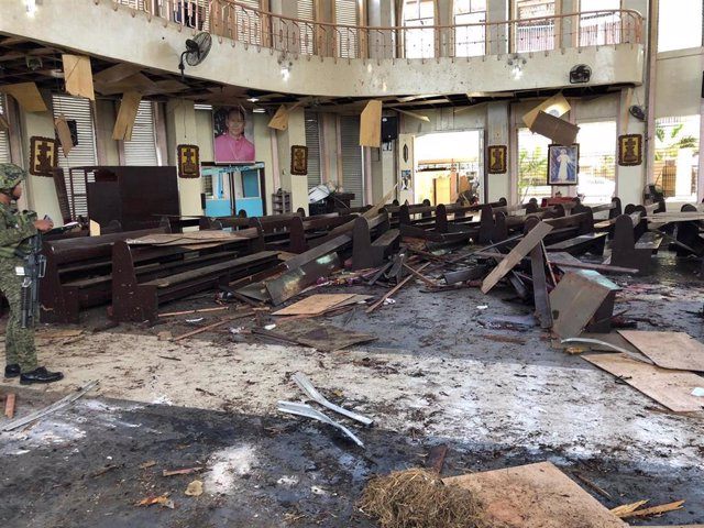 Ataque a una iglesia en Filipinas - Enero de 2019