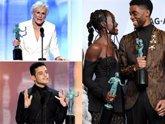 Foto: Rami Malek, Glenn Close y 'Black Panther', ganadores indiscutibles de los premios 'SAG'