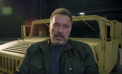 Primer vistazo a Arnold Schwarzenegger en Terminator 6