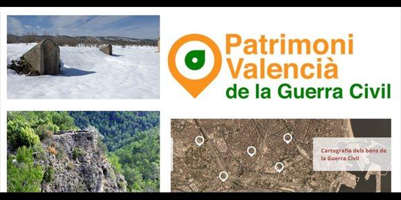 6. Un nou lloc web sobre patrimoni valencià de la Guerra Civil recull un inventari de 1.066 espais