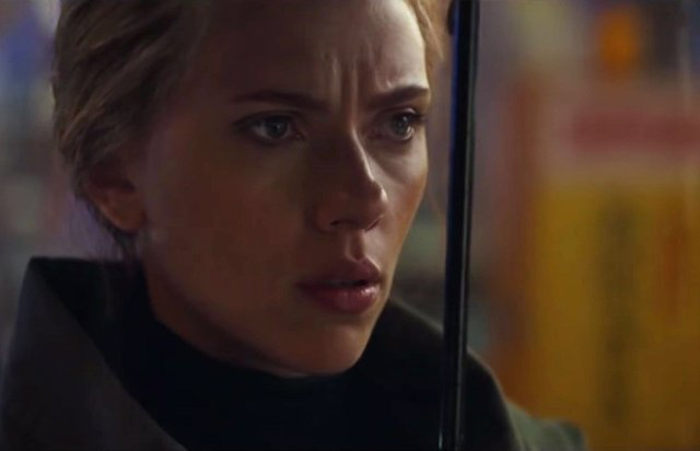 Scarlett Johansson (Viuda Negra) en Vengadores: Endgame