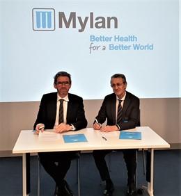 Firma convenio SER y MYLAN