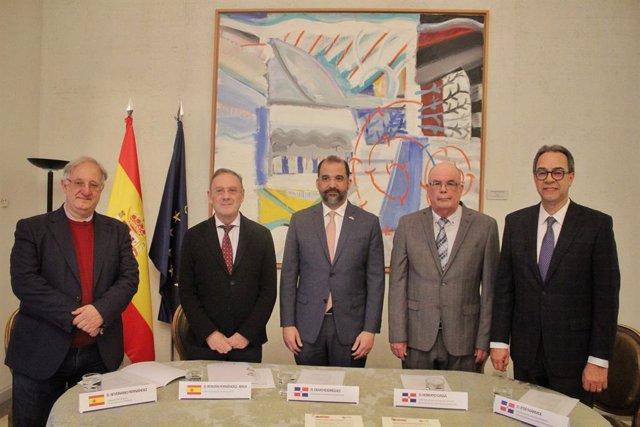 Firma memorandum república dominicana y españa