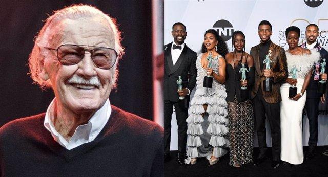 Stan Lee y Black Panther