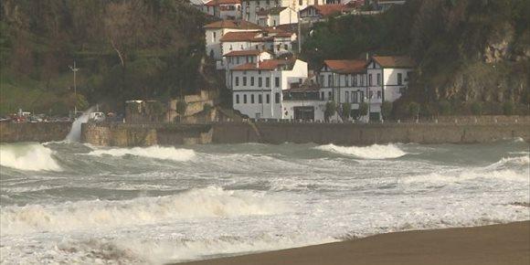 7. La ciclogénesis 'Gabriel' dejará una semana de lluvias, vientos fuertes y temperaturas templadas