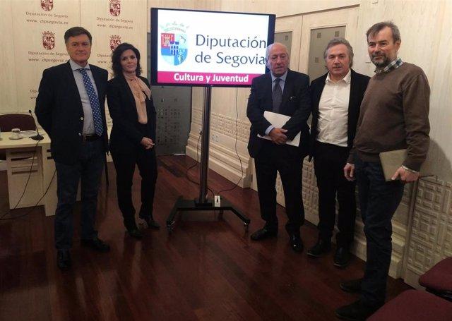 Rueda de prensa de la Diputación de Segovia sobre Cultura