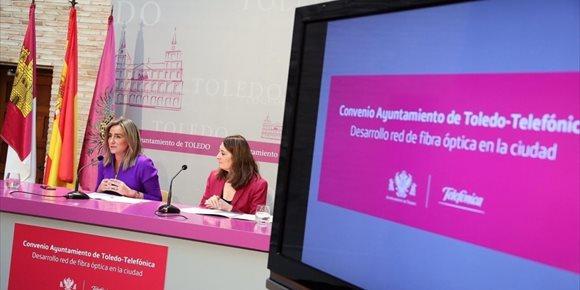 6. Más de 12.000 ciudadanos del Casco y otras zonas se beneficiarán de fibra óptica