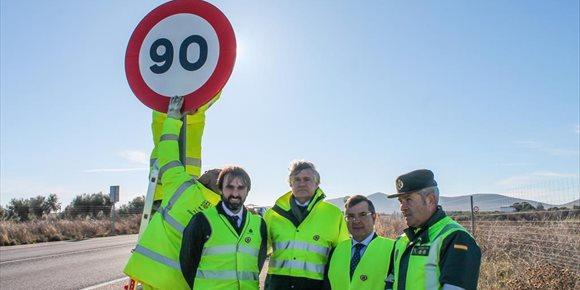 4. Retiradas 34 señales de 100km en Toledo ante la entrada la nueva normativa de 90