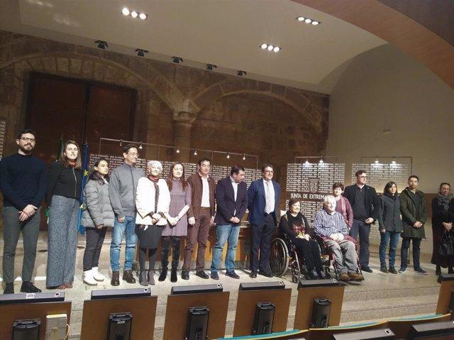 Presentación de los Planes de Accesibilidad en Guadalupe y Jerez de los Caballer
