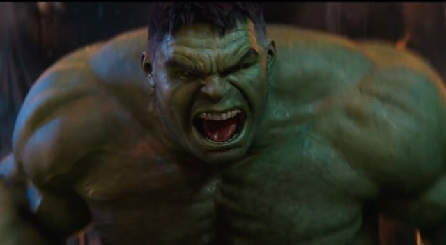 Hulk en Vengadores: Infinity War