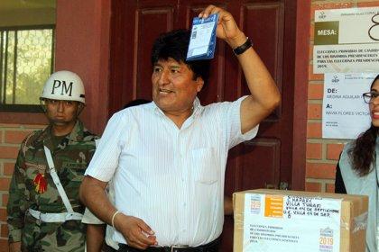 Evo Morales consigue la candidatura a la reelección con un 89% de los votos en las primarias