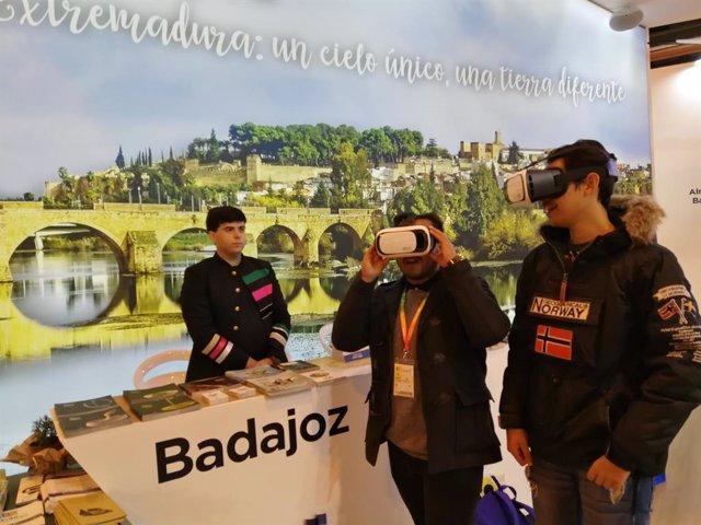 Promoción de la provincia de Badajoz en Fitur 2019