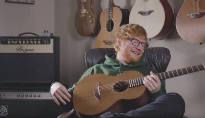 Ed Sheeran lanza su propia línea de guitarras
