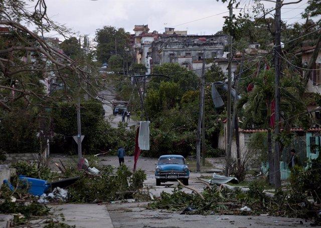 Tornado in Cuba